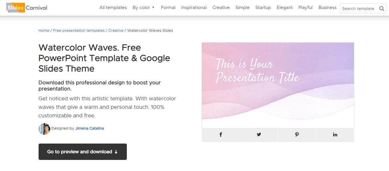 slidescarnival-免費PPT模板